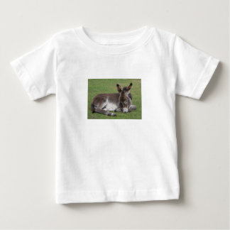 Cute baby donkey sleeping baby T-Shirt