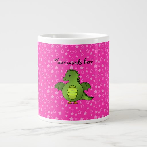 Cute baby dragon extra large mugs