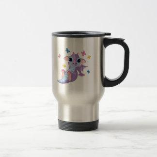 Cute Baby Dragon Stainless Steel Travel Mug