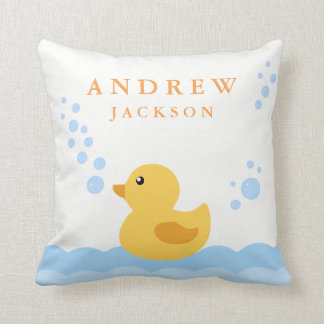 Cute Baby Duck Nursery Baby Pillow