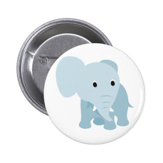 Cute Baby Elephant 6 Cm Round Badge