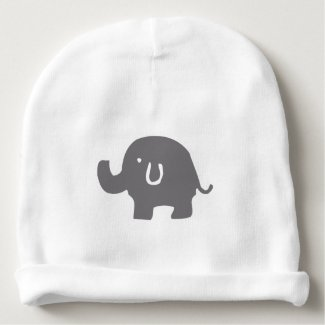 Cute Baby Elephant Baby Hat