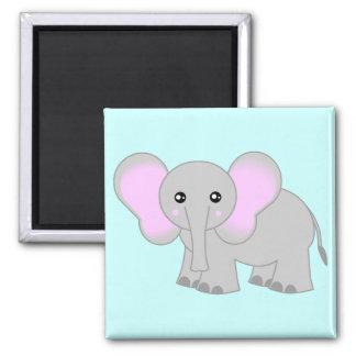 Cute Baby Elephant Fridge Magnet