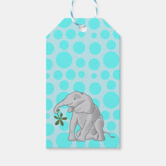 Cute Baby Elephant Gift Tags