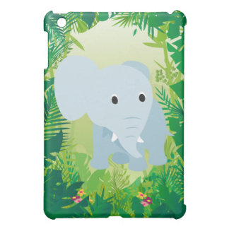 Cute Baby Elephant iPad Mini Cases