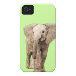 Cute Baby Elephant iPhone 4 Case-Mate Case