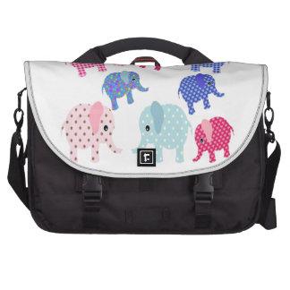 Cute Baby Elephants Computer Bag