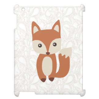 Cute Baby Fox iPad Case