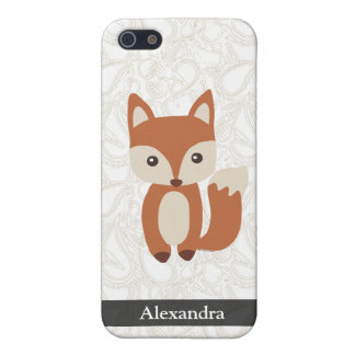 Cute Baby Fox iPhone 5 Case