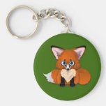 Cute Baby Fox Key Chain