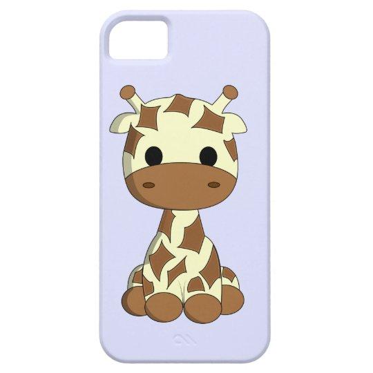 Cute baby giraffe cartoon girls iPhone 5 cover
