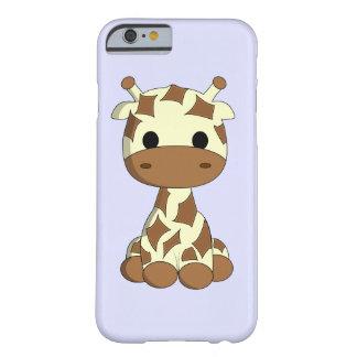 Cute baby giraffe cartoon kids barely there iPhone 6 case