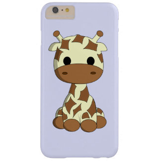 Cute baby giraffe cartoon kids barely there iPhone 6 plus case