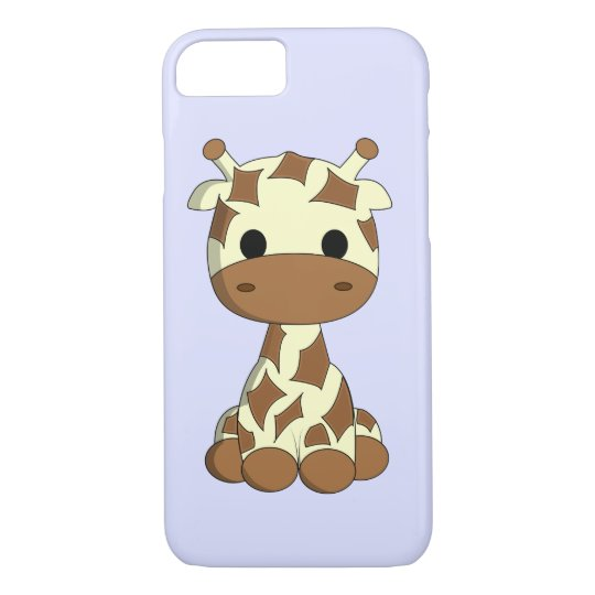 Cute baby giraffe cartoon kids iPhone 7 case