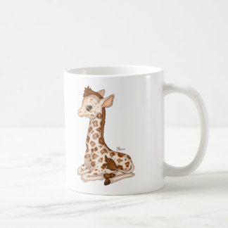 Cute Baby Giraffe Coffee Mug