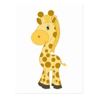 Cute Baby Giraffe Postcard