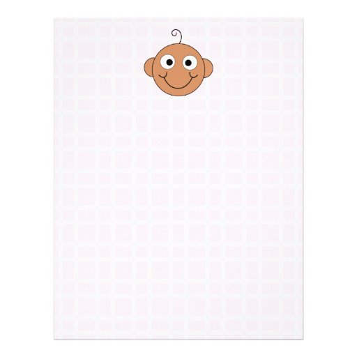 Cute Baby Girl. Pink Check Background. Flyers