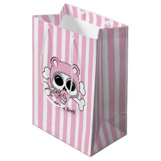 Cute Baby Girl Skull Medium Gift Bag
