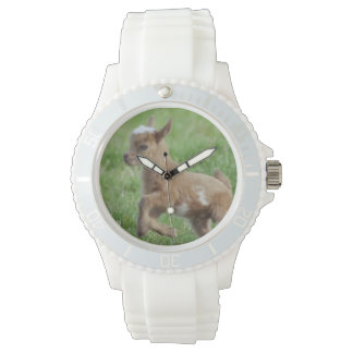Cute Baby Goat Wrist Watches