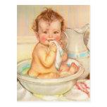 Cute Baby Having a Bath