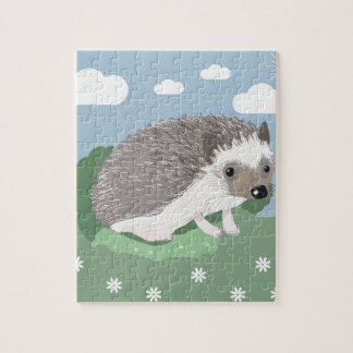 Cute Baby Hedgehog Jigsaw Puzzles