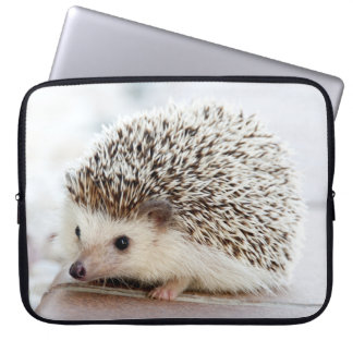 Cute Baby Hedgehog Laptop Sleeve