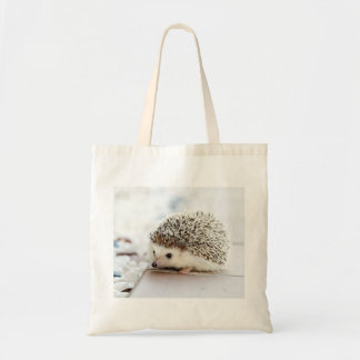 Cute Baby Hedgehog Tote Bag