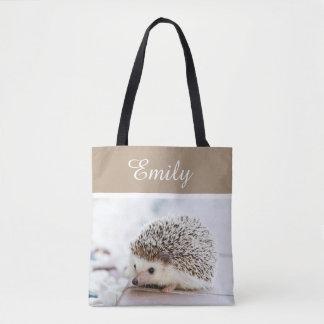 Cute Baby Hedgehog Tote Bag