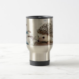 Cute Baby Hedgehog Travel Mug