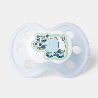 Cute baby hippo dummy