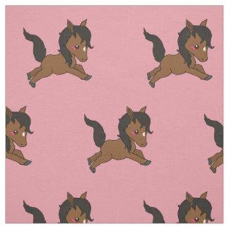 Cute baby Horse Fabric