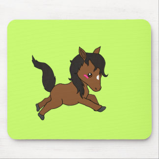 Cute baby Horse Mouse Mat