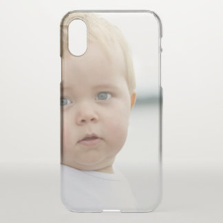 Cute Baby iPhone X Clearly™ Deflector Case