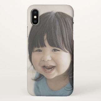 Cute Baby iPhone X Matte Case