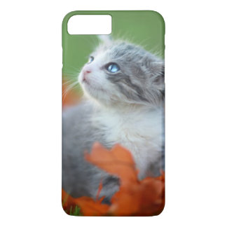 Cute Baby Kittens Playing Outdoors in the Grass iPhone 8 Plus/7 Plus Case