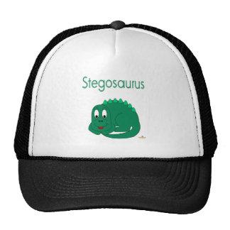 Cute Baby Lt Green Dinosaur Stegosaurus Hats