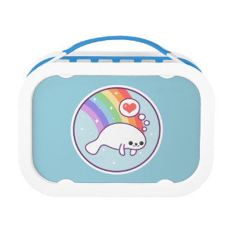 Cute Baby Manatee Lunch Box