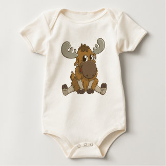 Cute Baby Moose T-Shirt