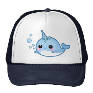 Cute baby narwhal cap