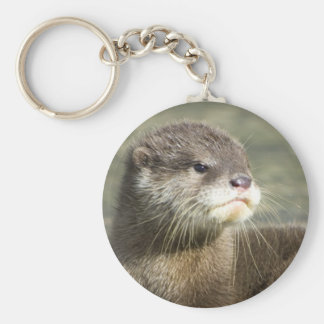 Cute Baby Otter Key Ring