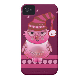 Cute Baby Owl with Nightcap Blackberry bold case