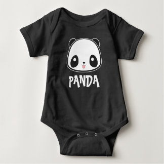 Cute Baby Panda Bodysuit