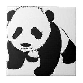 Cute Baby Panda Tile