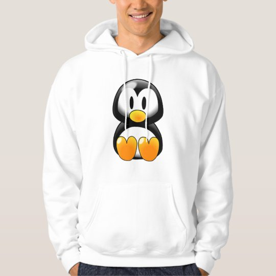 Cute Baby Penguin - Customizeable Hoodie