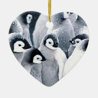 cute baby penguin penguins design christmas ornaments