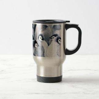 cute baby penguin penguins design travel mug