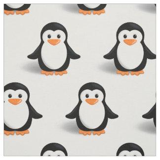 Cute Baby Penguin Fabric