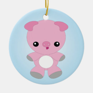 Cute Baby Pig ornament