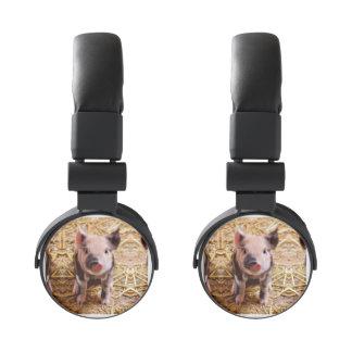 Cute Baby Piglet Farm Animals Babies Headphones