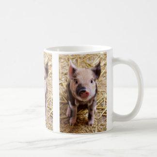 Cute Baby Piglet Farm Animals Barnyard Babies Coffee Mug